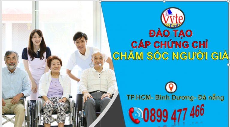 Đào tạo chứng chỉ nghiệp vụ chăm sóc người Cao Tuổi