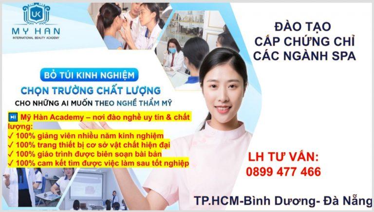 Nơi Nào Đào Tạo Nghề SPA Uy Tín Ở Hồ Chí Minh?