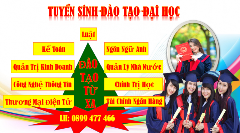Đào Tạo Đại Học Từ Xa, Hình thức xét tuyển/ LH 0899 477 466